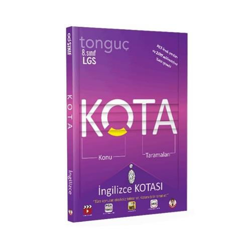 Tonguç Akademi 8. Sınıf LGS KOTA Konu Taramaları İngilizce Kotası
