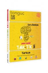 Tonguç Akademi - Tonguç Akademi 8. Sınıf LGS Türkçe Taktikli Soru Bankası