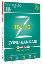 Tonguç Akademi - Tonguç Akademi 8.Sınıf 10da 10 Zoru Bankası