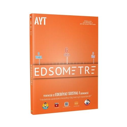 Tonguç Akademi AYT Edsometre 12 li Deneme