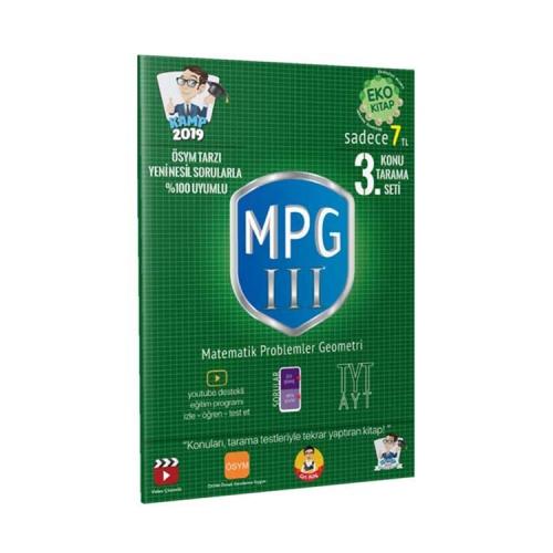 Tonguç Akademi Kamp 2019 TYT MPG 3 Konu Tarama Testi