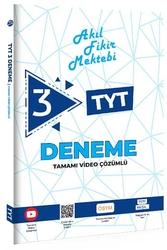 Tonguç Akademi - Tonguç Akademi TYT Akıl Fikir Mektebi Tamamı Video Çözümlü 3 Deneme