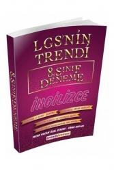 Trend Akademi Yayınları - Trend Akademi 8. Sınıf LGS İngilizce LGS nin Trendi 10 Deneme