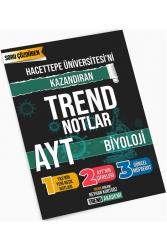 Trend Akademi Yayınları - Trend Akademi Yayınları YKS AYT Biyoloji Hacettepe Üniversitesini Kazandıran Trend Notlar