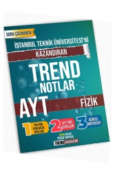 Trend Akademi Yayınları - Trend Akademi Yayınları YKS AYT Fizik İstanbul Teknik Üniversitesini Kazandıran Trend Notlar