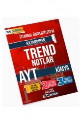 Trend Akademi Yayınları - Trend Akademi Yayınları YKS AYT Kimya İstanbul Teknik Üniversitesini Kazandıran Trend Notlar