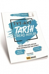 Trend Akademi Yayınları - Trend Akademi Yayınları YKS TYT AYT Tarih Trend Notlar
