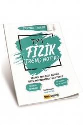 Trend Akademi Yayınları - Trend Akademi Yayınları YKS TYT Fizik Trend Notlar