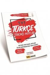 Trend Akademi Yayınları - Trend Akademi Yayınları YKS TYT Türkçe Trend Notlar