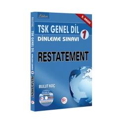 Pelikan Yayıncılık - Pelikan Yayınları TSK Genel Dil Dinleme Sınavı 1 Restatement