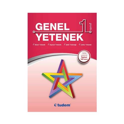 Tudem Yayınları 1. Sınıf Genel Yetenek Kitabı