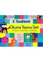 Tudem Yayınları - Tudem Yayınları 1. Sınıf Okuma Yazma Seti