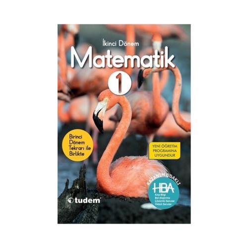 Tudem Yayınları 1.Sınıf 2.Dönem Matematik Hepsi Bir Arada