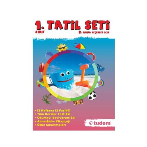 Tudem Yayınları 1.Sınıf Tatil Seti