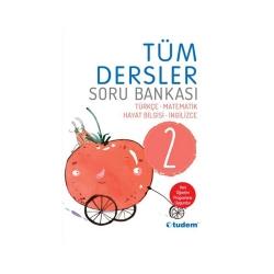 Tudem Yayınları - Tudem Yayınları 2. Sınıf Tüm Dersler Soru Bankası