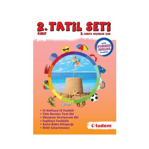 Tudem Yayınları 2.Sınıf Tatil Seti
