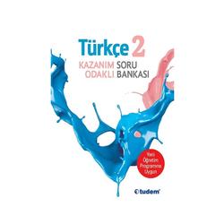 Tudem Yayınları - Tudem Yayınları 2.Sınıf Türkçe Kazanım Odaklı Soru Bankası
