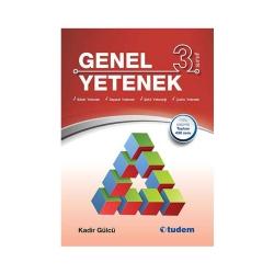 Tudem Yayınları - Tudem Yayınları 3. Sınıf Genel Yetenek Kitabı