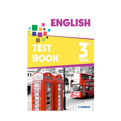 Tudem Yayınları - Tudem Yayınları 3. Sınıf İngilizce Soru Bankası