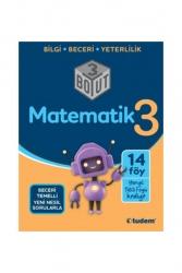 Tudem Yayınları - Tudem Yayınları 3. Sınıf Matematik 3 Boyut Soru Bankası
