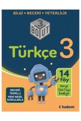 Tudem Yayınları - Tudem Yayınları 3. Sınıf Türkçe 3 Boyut Soru Bankası
