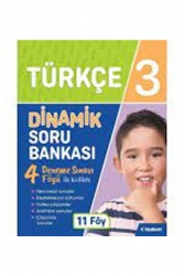 Tudem Yayınları - Tudem Yayınları 3. Sınıf Türkçe Dinamik Soru Bankası