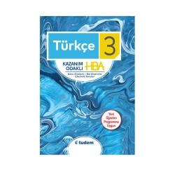 Tudem Yayınları - Tudem Yayınları 3. Sınıf Türkçe Kazanım Odaklı HBA