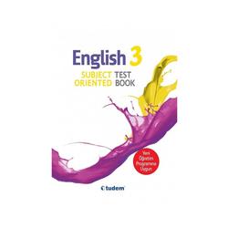 Tudem Yayınları - Tudem Yayınları 3.Sınıf English Subject Oriented Testbook
