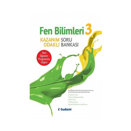 Tudem Yayınları 3.Sınıf Fen Bilimleri ve Hayat Bilgisi Kazanım Odaklı Soru Bankası