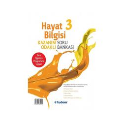 Tudem Yayınları 3.Sınıf Fen Bilimleri ve Hayat Bilgisi Kazanım Odaklı Soru Bankası - Thumbnail