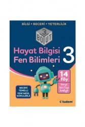 Tudem Yayınları - Tudem Yayınları 3.Sınıf Hayat Bilgisi Fen Bilimleri 3 Boyut Soru Bankası