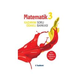Tudem Yayınları - Tudem Yayınları 3.Sınıf Matematik Kazanım Odaklı Soru Bankası