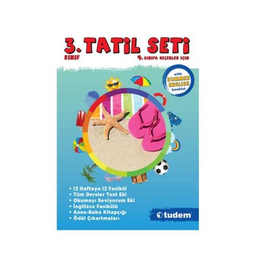 Tudem Yayınları 3.Sınıf Tatil Seti