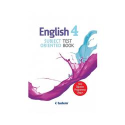 Tudem Yayınları - Tudem Yayınları 4.Sınıf English Subject Oriented Test Book