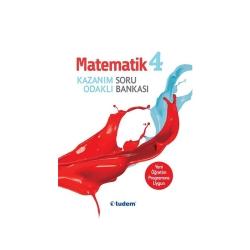 Tudem Yayınları - Tudem Yayınları 4.Sınıf Matematik Kazanım Odaklı Soru Bankası