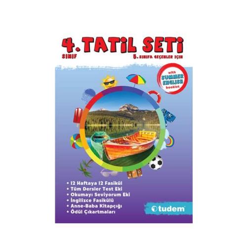 Tudem Yayınları 4.Sınıf Tatil Seti