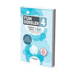 Tudem Yayınları - Tudem Yayınları 4.Sınıf Tüm Dersler Kazanım Odaklı HBA