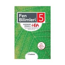 Tudem Yayınları - Tudem Yayınları 5. Sınıf Fen Bilimleri Kazanım Odaklı HBA