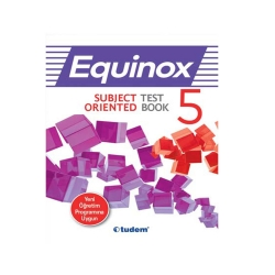 Tudem Yayınları - Tudem Yayınları 5. Sınıf İngilizce Equinox Subject Oriented Test Book