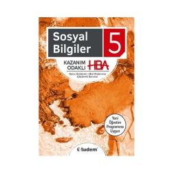 Tudem Yayınları - Tudem Yayınları 5. Sınıf Sosyal Bilgiler Kazanım Odaklı HBA