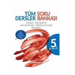 Tudem Yayınları - Tudem Yayınları 5. Sınıf Tüm Dersler Soru Bankası