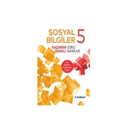 Tudem Yayınları - Tudem Yayınları 5.Sınıf Sosyal Bilgiler Kazanım Odaklı Soru Bankası