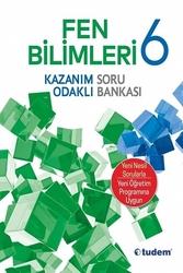 Tudem Yayınları - Tudem Yayınları 6. Sınıf Fen Bilimleri Kazanım Odaklı Soru Bankası