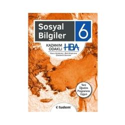 Tudem Yayınları - Tudem Yayınları 6. Sınıf Sosyal Bilgiler Kazanım Odaklı HBA