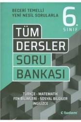 Tudem Yayınları - Tudem Yayınları 6. Sınıf Tüm Dersler Soru Bankası