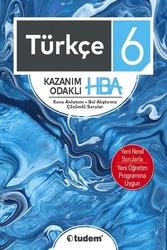 Tudem Yayınları - Tudem Yayınları 6. Sınıf Türkçe Kazanım Odaklı HBA