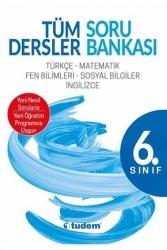 Tudem Yayınları - Tudem Yayınları 6.Sınıf Tüm Dersler Soru Bankası