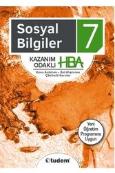 Tudem Yayınları - Tudem Yayınları 7. Sınıf Sosyal Bilgiler Kazanım Odaklı HBA