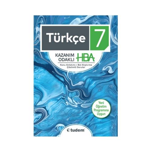 Tudem Yayınları 7. Sınıf Türkçe Kazanım Odaklı HBA