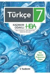 Tudem Yayınları - Tudem Yayınları 7. Sınıf Türkçe Kazanım Odaklı HBA
